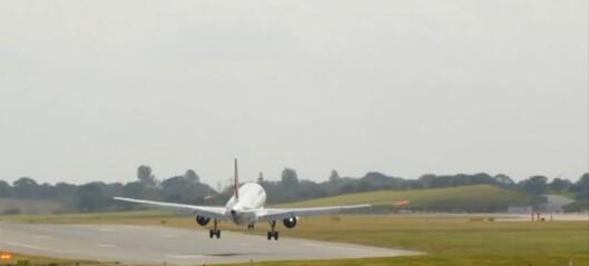 Her får piloten nok - har du flyskrekk, bør du ikke se denne videoen