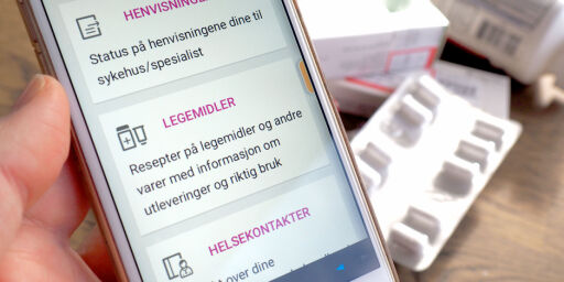 «Mine resepter» legges ned: Blir integrert i helsenorge.no