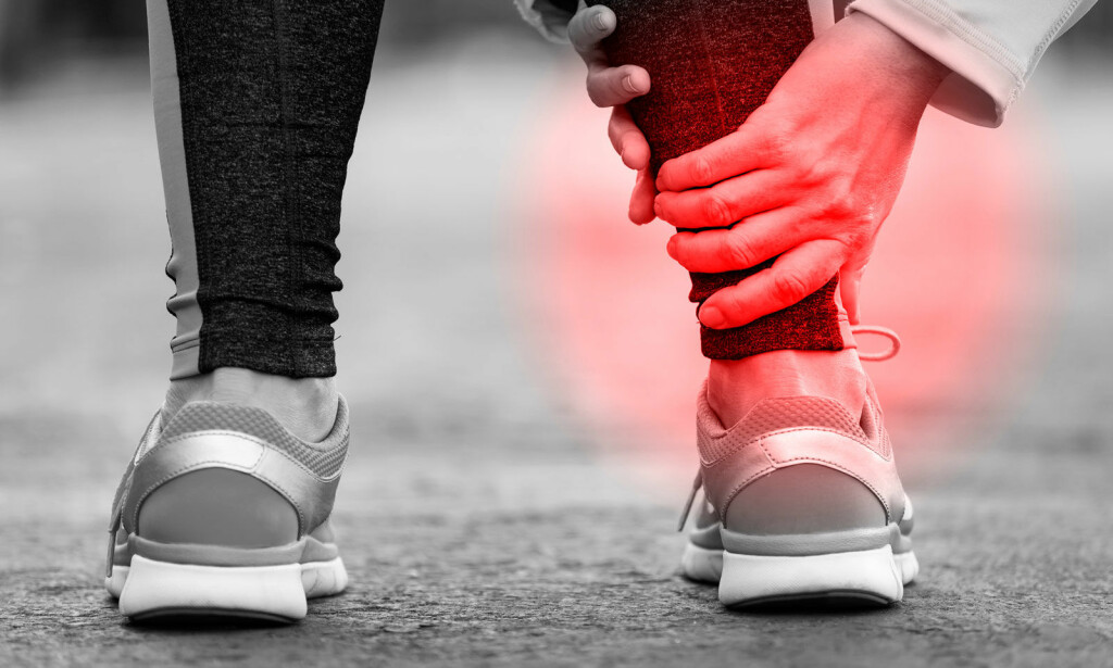 STORE SMERTER: Ved akillesseneskade vil du få smerter og problemer med å gå på det skadde beinet. Oppsøk lege. Foto: NTB Scanpix/Shutterstock