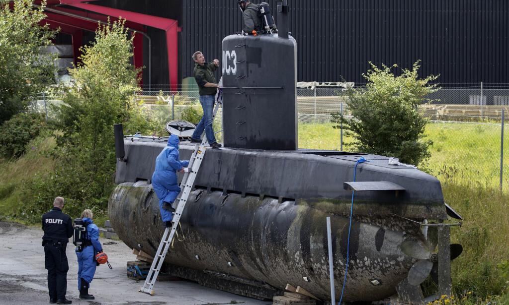 UBÅTEN: Peter Madsen bygget ubåten UC3 Nautilus. Journalist Kim Wall skulle være med på en tur i ubåten for å lage reportasje. Madsen ble i april dømt til livstid for å ha drept henne. Foto: Jacob Ehrbahn/Ritzau Foto via AP / NTB scanpix