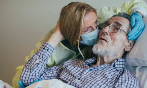 image: Helene Sandvig kritiserer helsevesenet