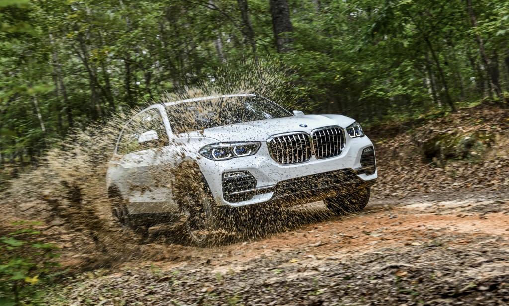 6. PLASS: BMW X5. Foto: BMW