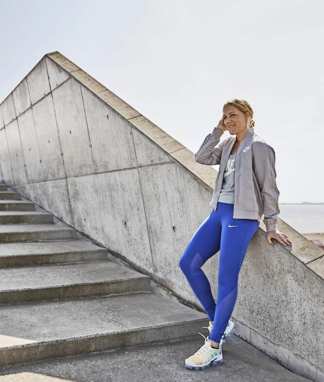 MISTET ØYEBRYN: – Stress går ikke bare bort, sier sunnhetscoach Michelle Kristensen (34), som nylig konstaterte at hun hadde mistet et øyebryn på grunn av det.