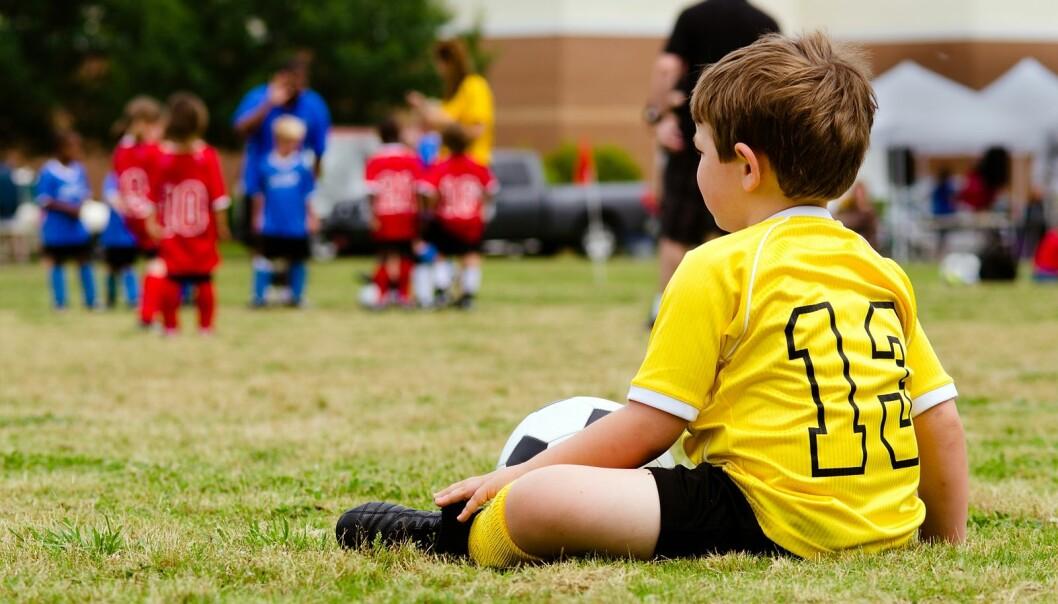 BARNEFATTIGDOM: En ny undersøkelse viser at færre barn deltar på fritidsaktiviteter enn tidligere. FOTO: NTB Scanpix