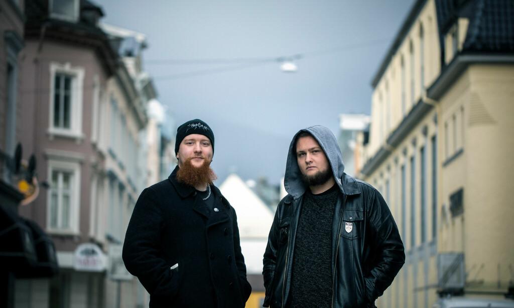 METALHODER: Nichlas Sæther Håvik og Eirik Ones. Foto: Eivind Senneset / Dagbladet