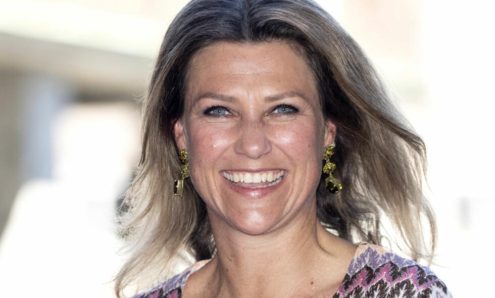 STJERNEMØTE: Prinsesse Märtha Louise var blant dem som fikk æren av å møte Barack Obama da han var i Oslo. Foto: Andreas Fadum
