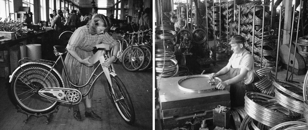 <strong>DBS:</strong> Den «beste» sykkel- fabrikken forsynte hele Norge med sykler, også konkurrentene. Foto: Sverre A. Børretzen / Aktuell / NTB Scanpix