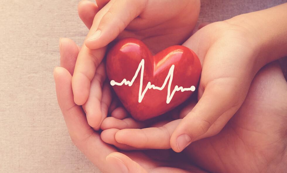 FOREBYGGER: Ved enkle grep kan du ta litt bedre vare på det fantastiske hjertet ditt, skriver kronikkforfatteren og gir deg gode tips i anledning verdens hjertedag. Foto: Shutterstock