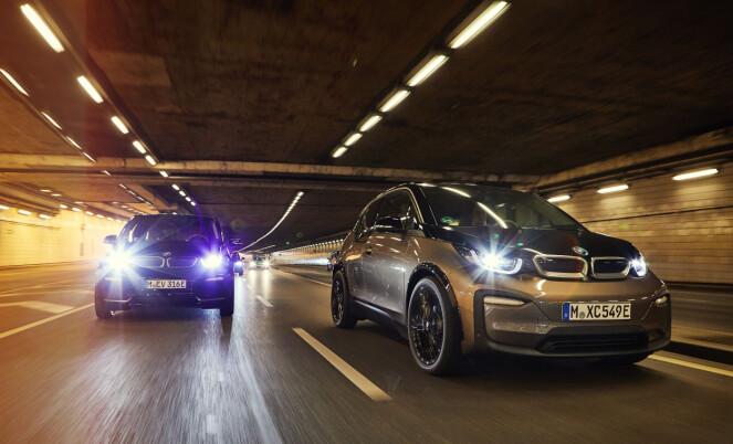 <strong>FLERE OPPGRADERINGER:</strong> Den kommer i to versjoner i3 og den mer sportsligere i3s. Foto: BMW