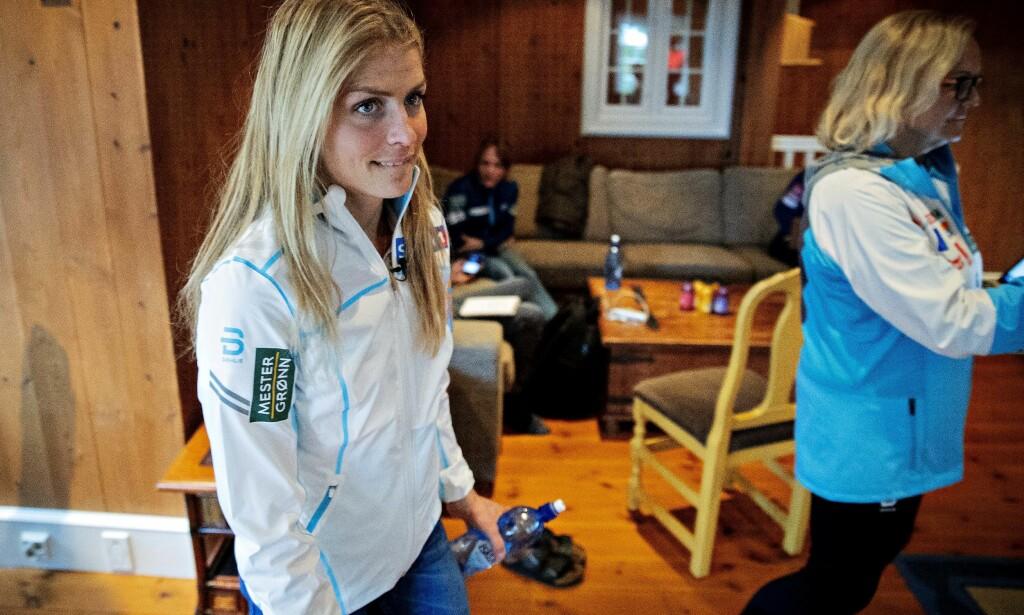 POSITIV: Therese Johaug var først skeptisk til mer hurtighetsfokus i treningsplanen, men er nå positiv. Foto: Bjørn Langsem / Dagbladet