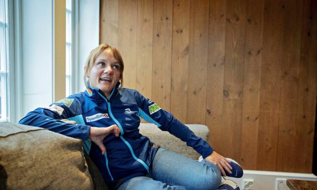 HYLLEST: Maiken Caspersen Falla er stor fan av endringene som er gjort på det norske kvinnelandslaget. Foto: Bjørn Langsem / Dagbladet