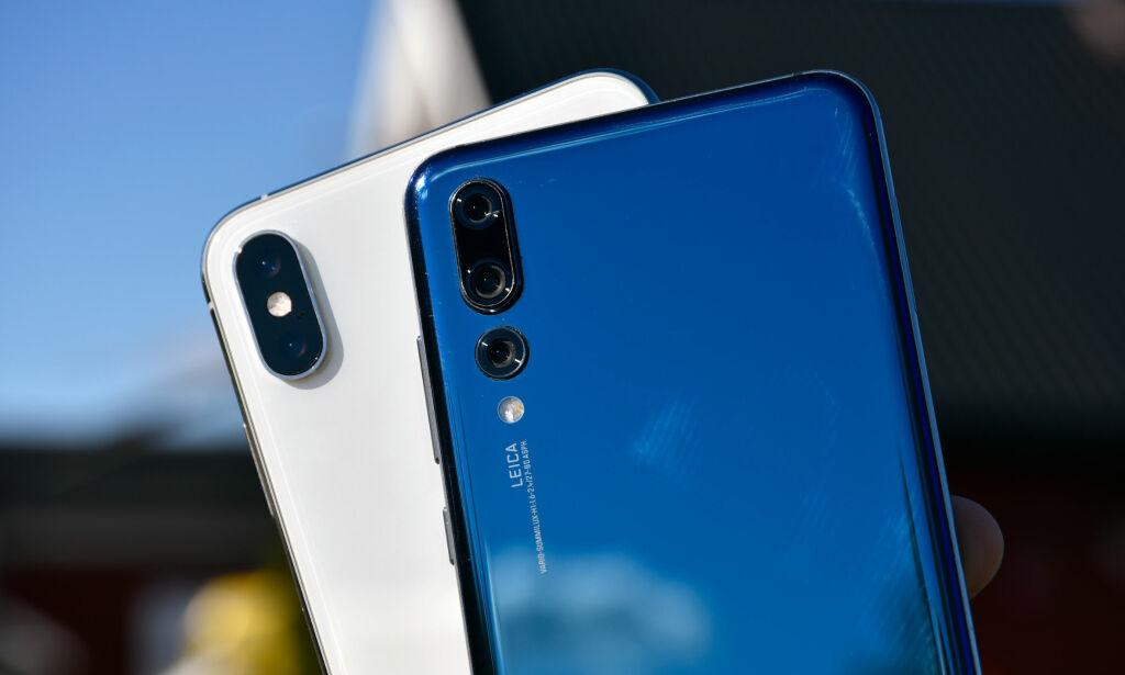 image: Kameraduellen: iPhone Xs Max mot Huawei P20 Pro