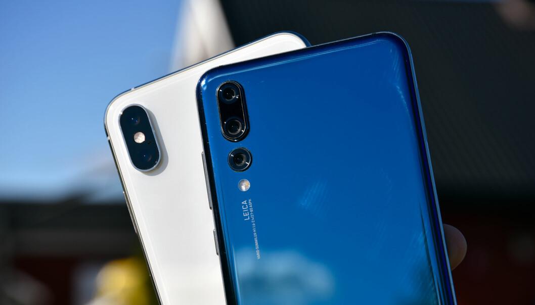 Kameraduellen: iPhone Xs Max mot Huawei P20 Pro