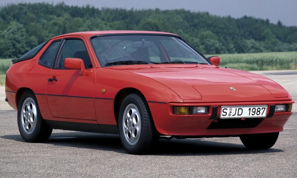 FOR ALLE: «Ingenting stemte» på Porsche 924. Foto: Pressebilder/arkiv