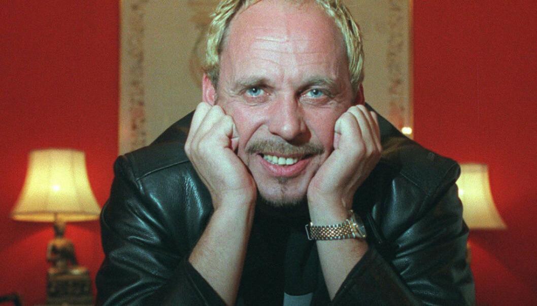 SAGNOMSUST: Artist Rune Rudberg, døpt av Natt og Dag som «Norges eneste rockestjerne», har levd et innholdsrikt liv. Han har ingen problemer med å snakke om opp- og nedturene. Foto: NTB Scanpix