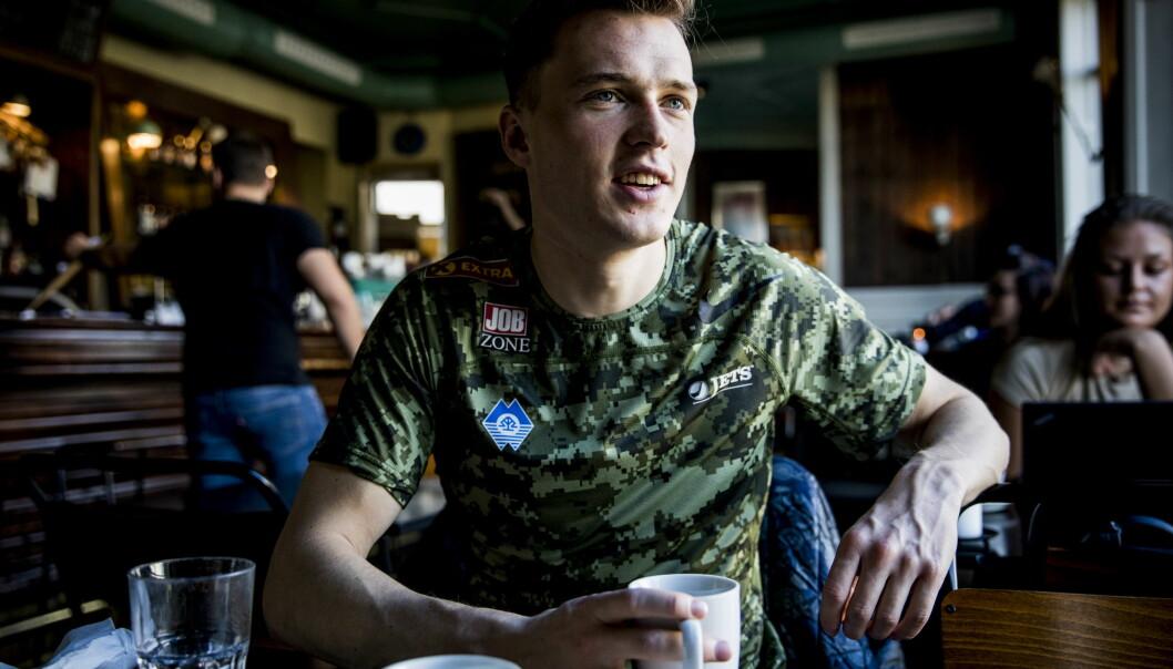 <strong>MØTER VERDENSMESTEREN:</strong> Karsten Warholm skal konkurrere mot Pavel Maslak i Ulsteinvik. Foto: Christian Roth Christensen / Dagbladet