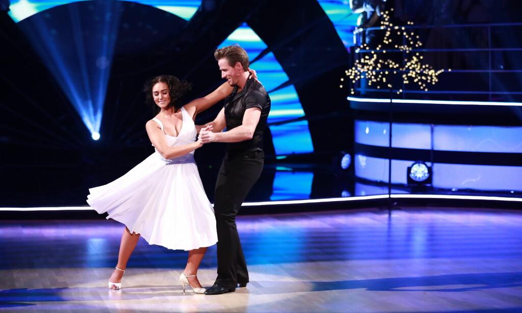 SØSTERENS FAVORITT: Jan Gunnar og Rikke danset sangen fra avdøde Mettes favorittfilm, «Dirty Dancing». Foto: NTB Scanpix
