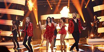 image: Lover spanske hofter på scenen i «Stjernekamp»: - Jeg har fått fripass til å flørte med gutta