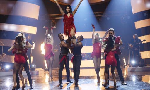 DESPACITO: Ulrikke Brandstorp fikk skryt fra dommerne for sin opptreden i gruppeoppgaven. - Dette var det Shakira-fakter over, sa gjestedommer Cecilie Asker. Foto: John T. Pedersen / Dagbladet