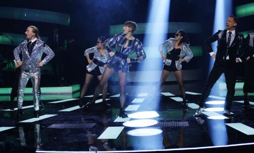 GANGNAM STYLE: Ella Marie, Ole og Heine framførte «Gangnam Style» med koreografi fra musikkvideoen som gikk som en farsott over verden. Foto: John T. Pedersen / Dagbladet