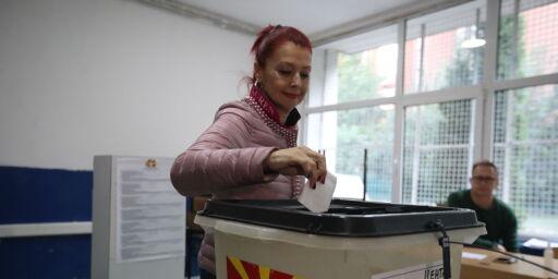 image: Makedonias statsminister lover å fortsette kampen for navneendring