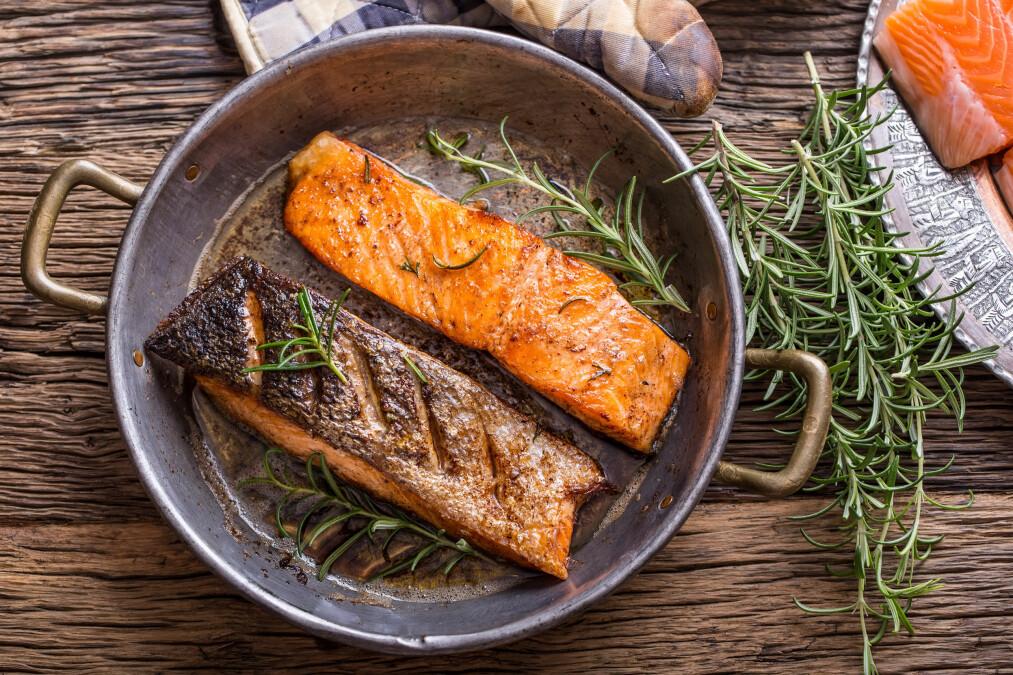 FISK: Vet du forskjellen mellom mager og fet fisk? FOTO: NTB Scanpix