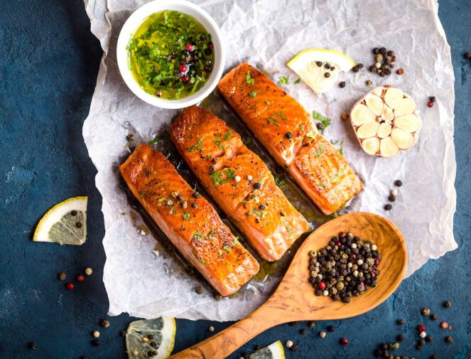 OMEGA-3: Fet fisk inneholder omega-3 og vitamin D. Foto: Shutterstock