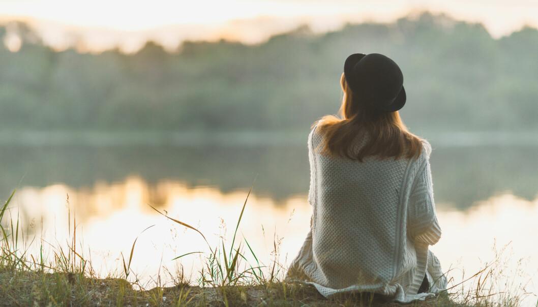 STILLHET: Gir du rom for å utforske eget følelsesliv, kan du oppleve å bli mer kjent med seg selv? Foto: Shutterstock.