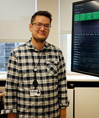 Joakim slutta i jobben uten en konkret plan for fremtiden. Foto: Jørgen Jacobsen
