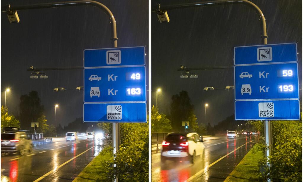 DYRT: Selv om salget av elbiler har tatt av, dominerer bensin og diesel fortsatt stort inn og ut av Oslo, viser nye tall fra Fjellinjen. Foto: Heiko Junge / NTB scanpix