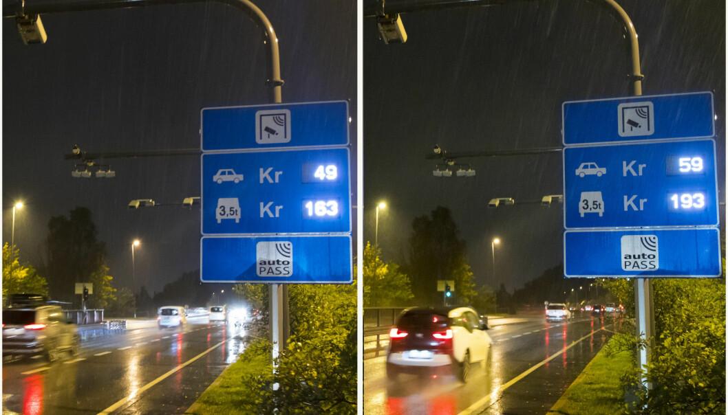 <strong>DYRT:</strong> Selv om salget av elbiler har tatt av, dominerer bensin og diesel fortsatt stort inn og ut av Oslo, viser nye tall fra Fjellinjen. Foto: Heiko Junge / NTB scanpix