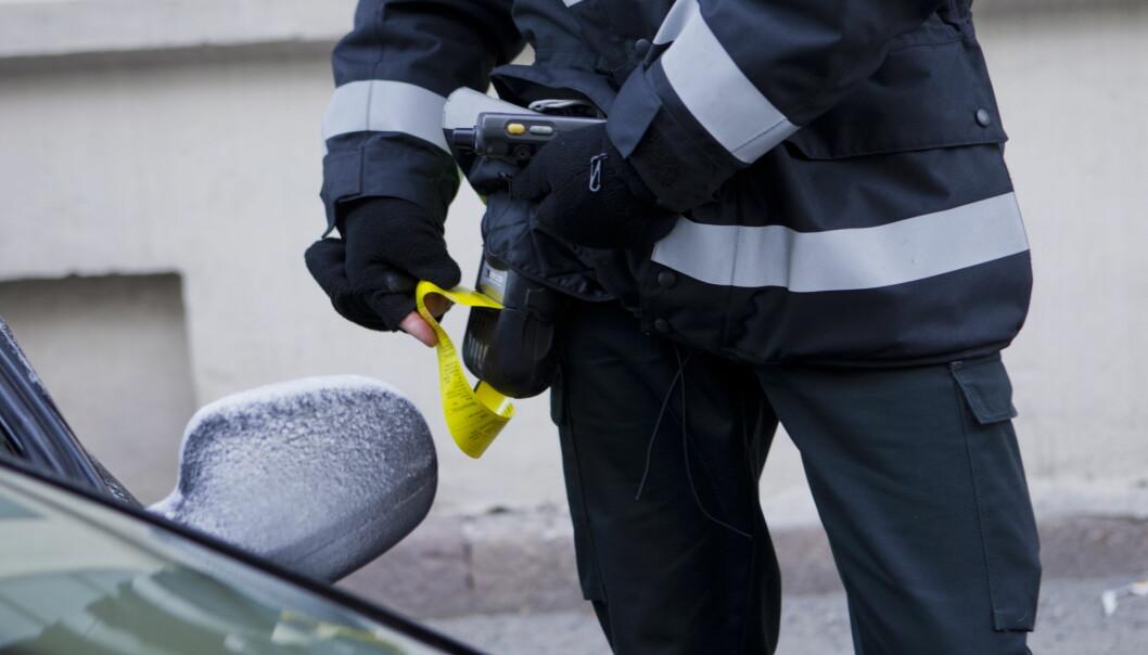 <strong>KUN 1 AV 5 FÅR MEDHOLD:</strong> Det er mange som klager på parkeringsboten, men kun 22 prosent får medhold i klagen. Foto: NTB scanpix