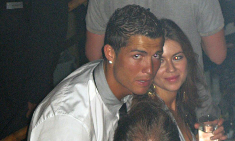 ETTERFORSKES: Fotballstjernen Cristiano Ronaldo anklages for voldtekt av amerikanske Kathryn Mayorga (t.h.) i 2009. Foto: FLYNETPICTURES.COM / SPLASHNEWS.COM