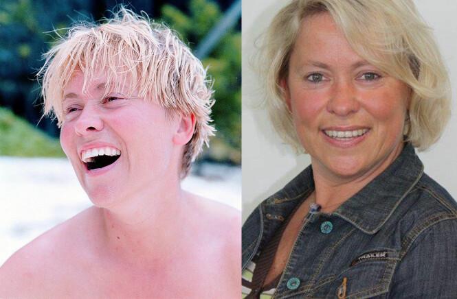 <strong>ROBINSON-METTE FØR OG NÅ:</strong> Mette Ulvestad var 35 år da hun deltok i sesong en av Robinsonekspedisjonen i 1999. Foto: Privat / TV3.
