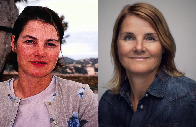 <strong>MULDVARPEN-KJERSTI FØR OG NÅ:</strong> Kjersti Nesbakk var 36 år gammel da hun deltok i seong en av Muldvarpen i 2000. Foto: Privat / TVNorge.