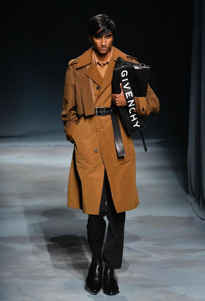 Jeenu Mahadevan for Givenchy. Foto: Scanpix