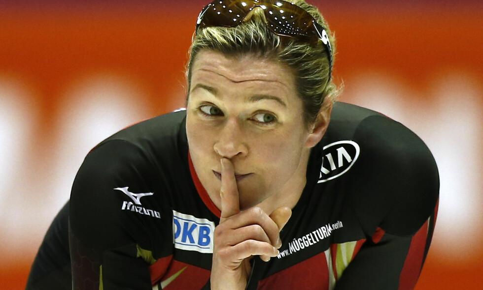 TAPTE KAMPEN: Men Claudia Pechstein får likevel erstatning. Foto: NTB Scanpix