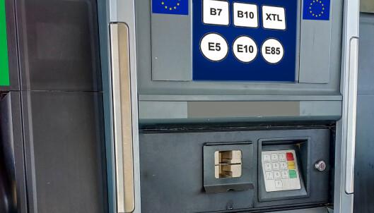 Ny merking på bensin- og dieselpumpene