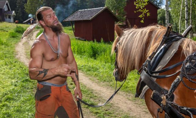 KORTVARIG OPPHOLD: Kim Stefan Jenssen beskriver dagene han fikk på «Farmen» som et eventyr. Foto: Alex Iversen / TV 2