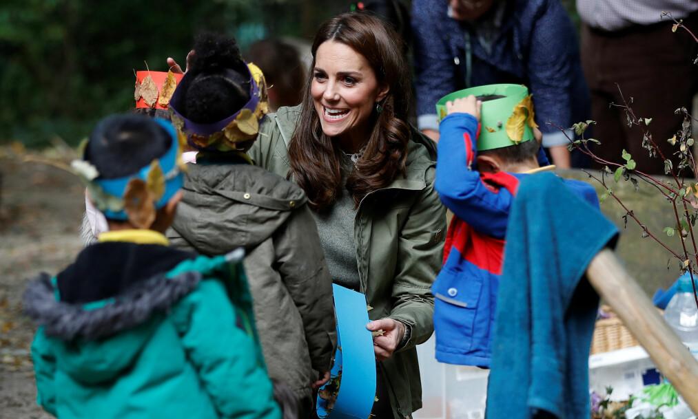 TILBAKE PÅ JOBB: Kates mammaperm er offisielt over, og hun har nå gått tilbake til sine kongelige plikter. Foto: NTB Scanpix