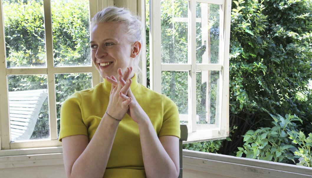 LANG PAUSE: Thea Hjelmeland er tilbake - fire år etter Spellemannbelønte «Solar Plexus». Foto: Gitte Johannessen / NTB Scanpix