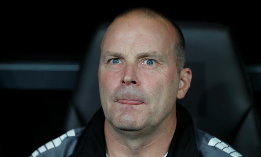 SLITER: Sarpsborg-trener Geir Bakke. Foto: NTB Scanpix