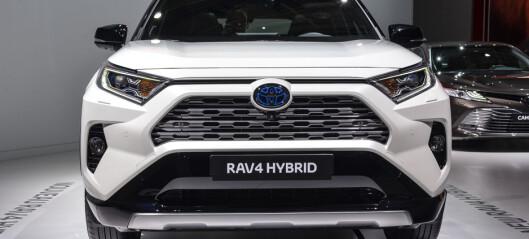 Her er prisen på nye Toyota RAV4