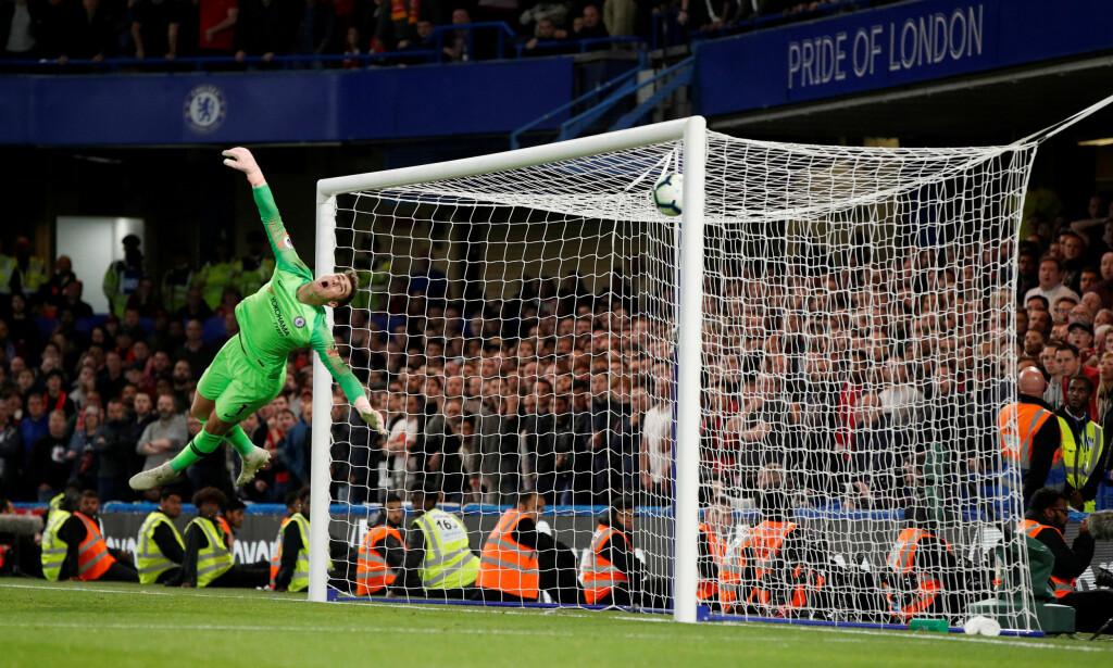 PERLESCORING: Daniel Sturridge scoret to ganger på to kamper mot gamleklubben Chelsea. Foto: Reuters/John Sibley/NTB Scanpix