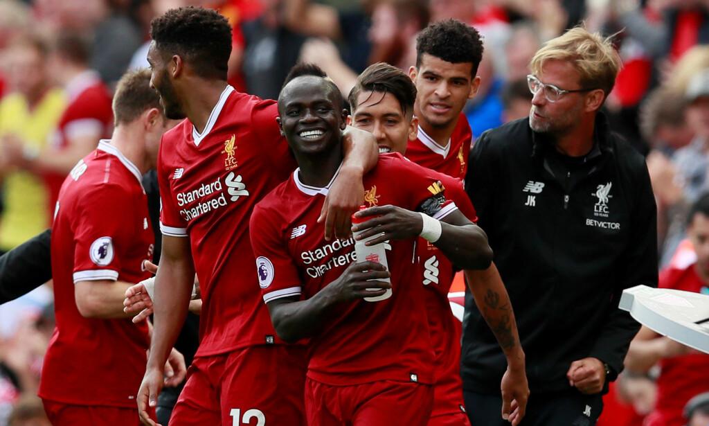 TRE ÅR MED KLOPP: 8. oktober 2015 ble Jürgen Klopp ansatt som Liverpool-manager. På tre år har han løftet optimismen i Liverpool. Foto: Reuters/Jason Cairnduff/NTB Scanpix