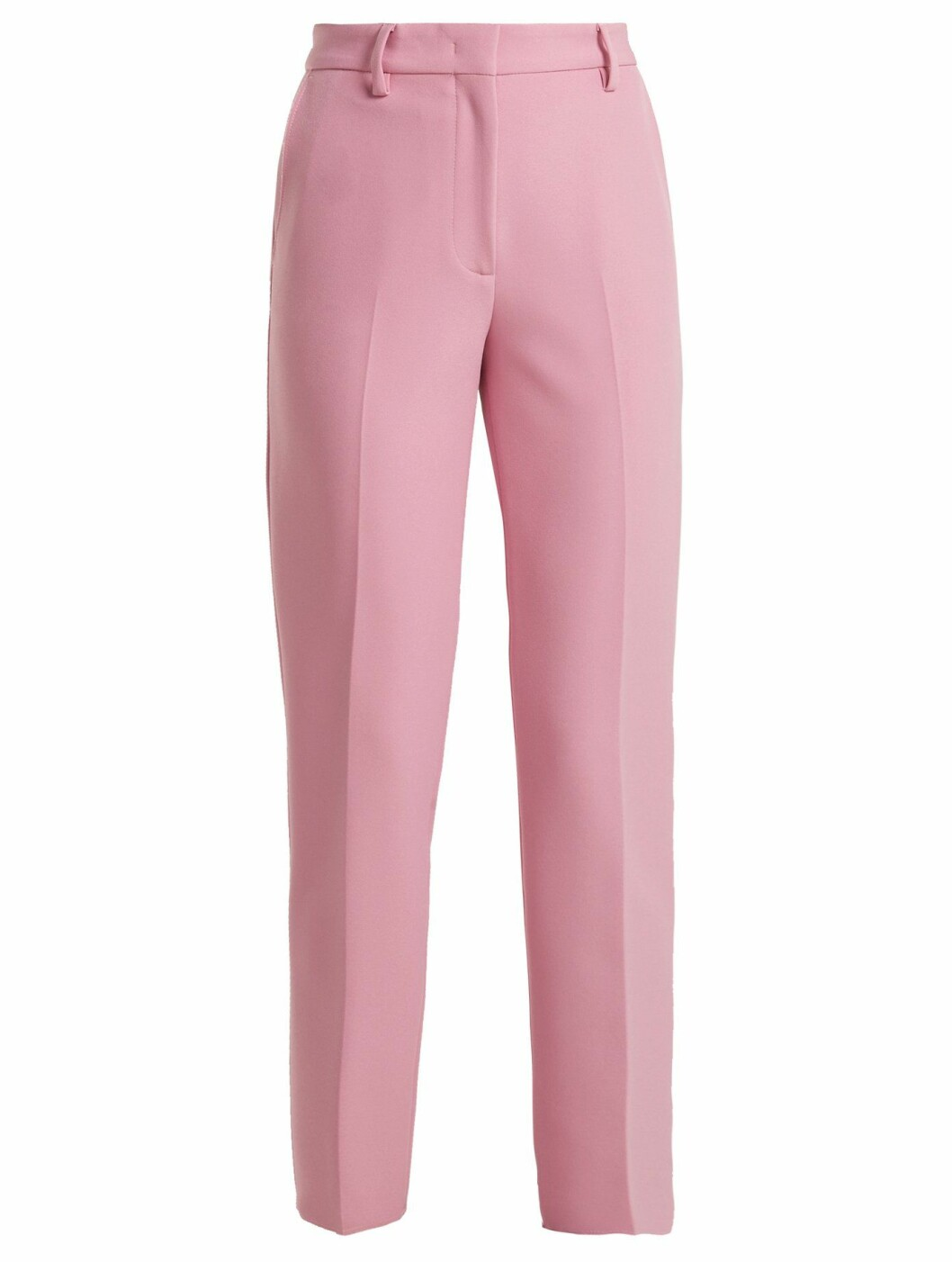 Bukse fra MSGM  1890,-  https://www.matchesfashion.com/intl/products/MSGM-Mid-rise-crepe-trousers--1209802