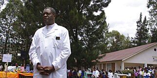 image: Dr. Denis Mukwege og Nadia Murad tildeles Nobels fredspris