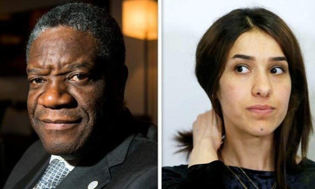 image: Nobels fredspris til Denis Mukwege og Nadia Murad