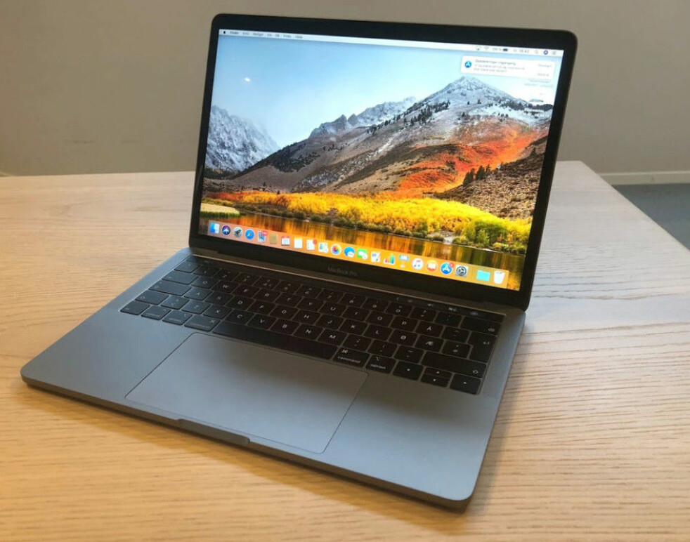 <strong>KOMMER MED SPERRE:</strong> Apples MacBook Pro lansert tidligere år har en sperre som gjør at kun autoriserte verksteder kan reparere større komponenter som skjerm og hovedkort. Foto: Bjørn Eirik Loftås