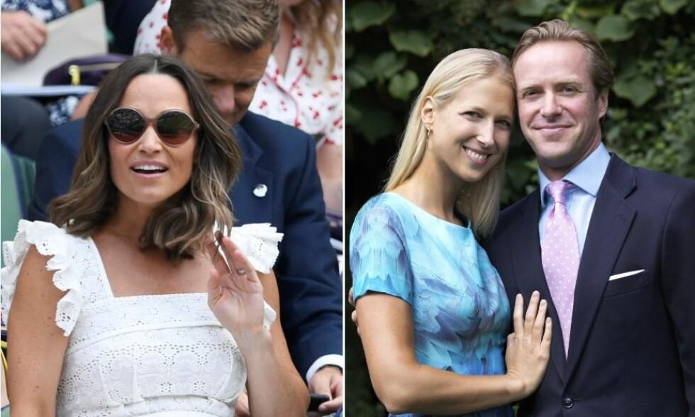 EKSEN FORLOVET: Pippa Middleton hadde i 2011 et kort forhold til Thomas Kingston. Nå er han forlovet med Lady Gabriella, som er datter av dronning Elizabeths fetter. Foto: NTB Scanpix